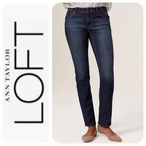 Ann Taylor Loft Curvy Straight Jeans, 29/8 - NWT